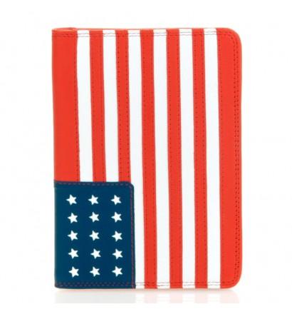 Mywalit Porte-passeport en cuir USA Rouge EdoAWxb