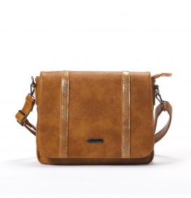 Sac bandoulière Yesfir marron LITTLE MARCEL