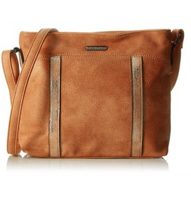 Sac bandoulière Yetta marron  LITTLE MARCEL
