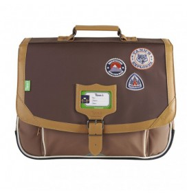 Cartable Into the Wild Bison 38cm TANNS