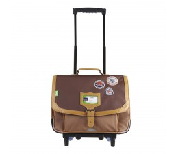 Trolley Into the Wild Bison 38cm TANNS