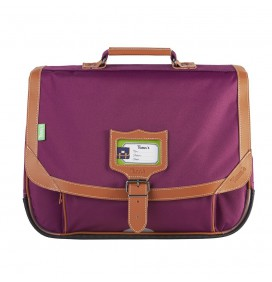 Cartable Incontournables Prune 38cm TANNS